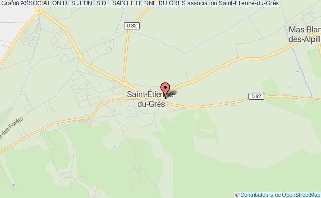 plan association Association Des Jeunes De Saint Etienne Du Gres