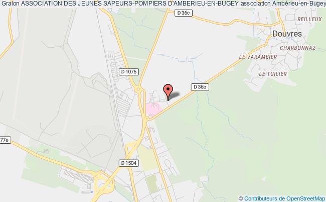 plan association Association Des Jeunes Sapeurs-pompiers D'amberieu-en-bugey Ambérieu-en-Bugey