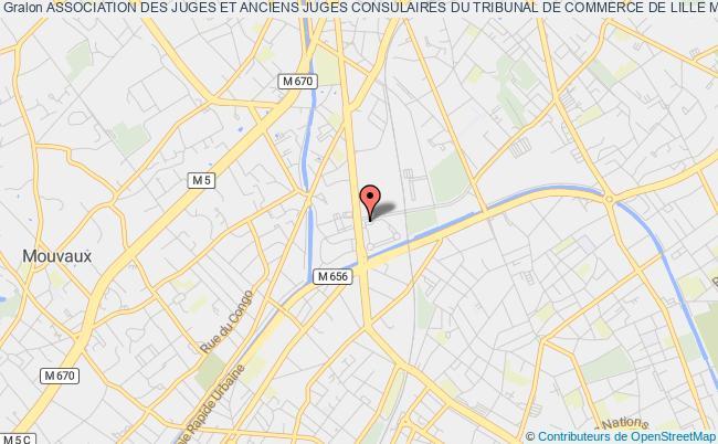 plan association Association Des Juges Et Anciens Juges Consulaires Du Tribunal De Commerce De Lille Metropole (atclm)
