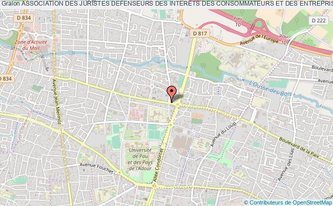 plan association Association Des Juristes Defenseurs Des Interets Des Consommateurs Et Des Entreprises (ajdice)