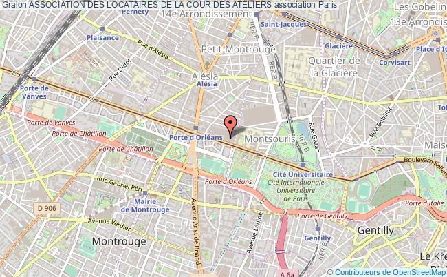 plan association Association Des Locataires De La Cour Des Ateliers