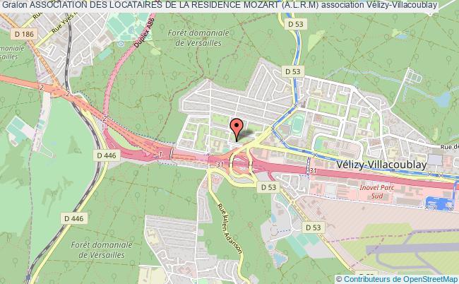 plan association Association Des Locataires De La Residence Mozart (a.l.r.m)