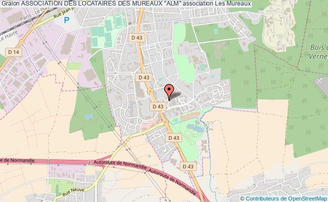 """plan association Association Des Locataires Des Mureaux """"alm"""" Les   Mureaux"""
