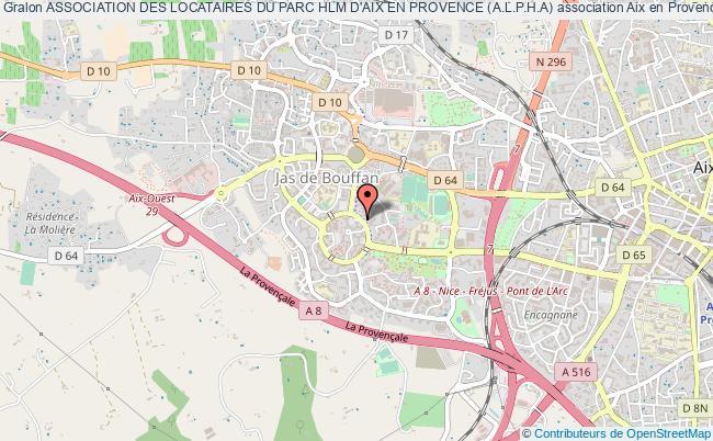 plan association Association Des Locataires Du Parc Hlm D'aix En Provence (a.l.p.h.a)