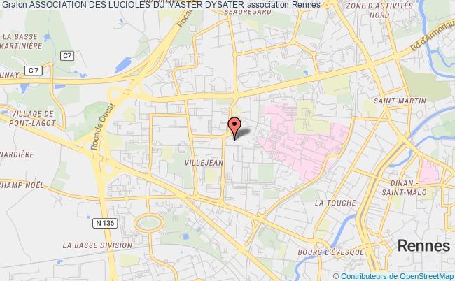 plan association Association Des Lucioles Du Master Dysater