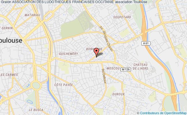 plan association Association Des Ludotheques Francaises Occitanie