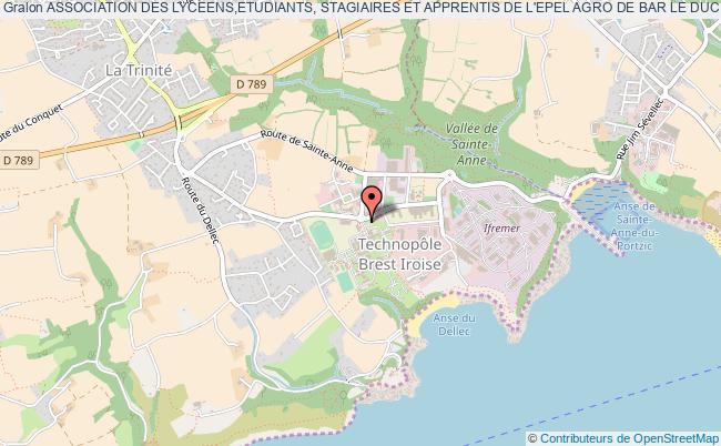 plan association Association Des Lyceens,etudiants, Stagiaires Et Apprentis De L'epel Agro De Bar Le Duc Bar-le-Duc