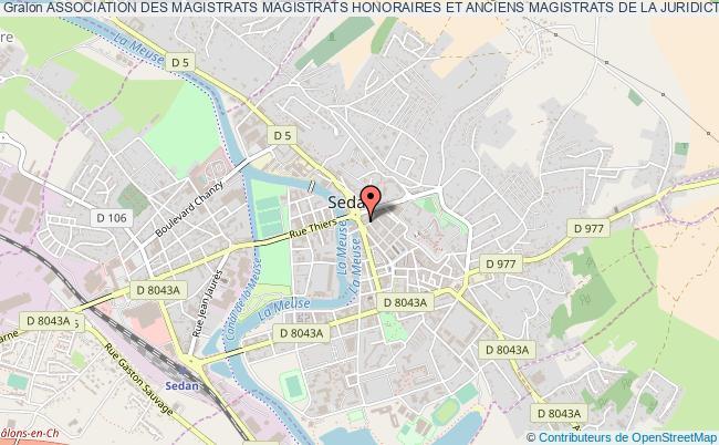 plan association Association Des Magistrats Magistrats Honoraires Et Anciens Magistrats De La Juridiction Consulaire Departementale Des Ardennes