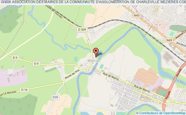 plan association Association Des Maires De La Communaute D'agglomeration De Charleville Mezieres Coeur D'ardenne