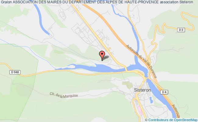 plan association Association Des Maires Du Departement Des Alpes De Haute-provence