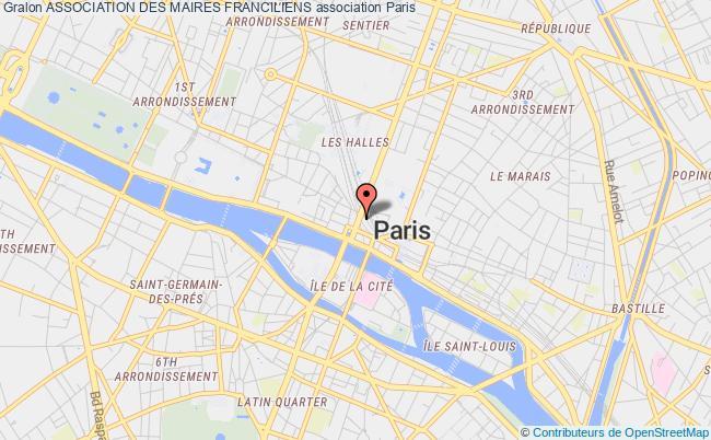 plan association Association Des Maires Franciliens