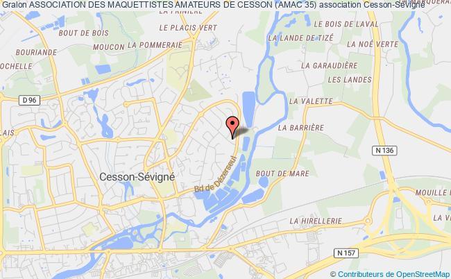 plan association Association Des Maquettistes Amateurs De Cesson (amac 35) Cesson-Sévigné