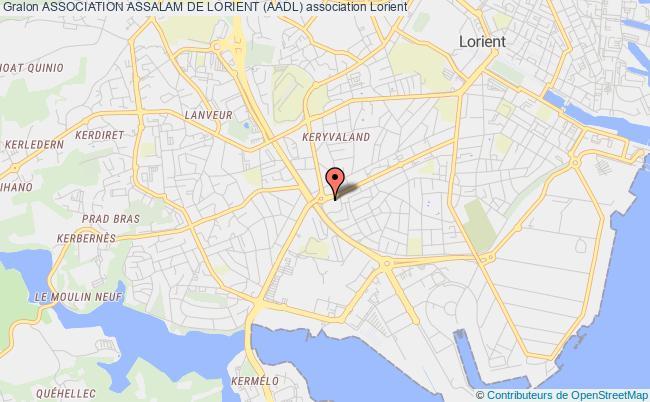 plan association Association Des Marocains Du Morbihan Pour La Bienfaisance