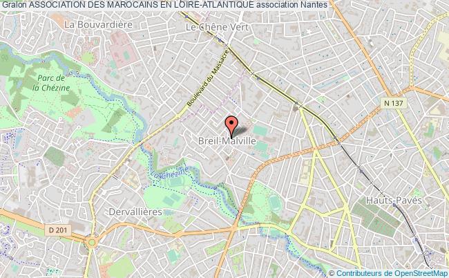 plan association Association Des Marocains En Loire-atlantique