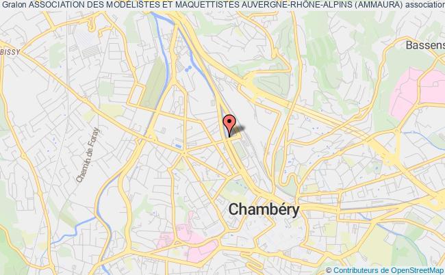 plan association Association Des ModÉlistes Et Maquettistes RhÔne-alpins (ammra) Chambéry