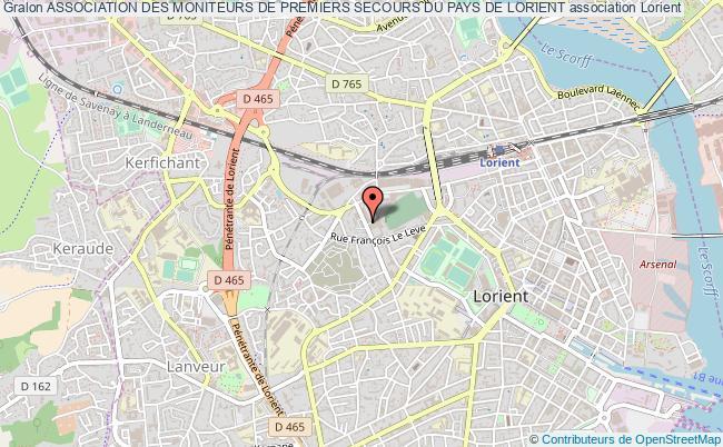plan association Association Des Moniteurs De Premiers Secours Du Pays De Lorient