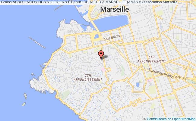 plan association Association Des Nigeriens Et Amis Du Niger A Marseille (ananm)