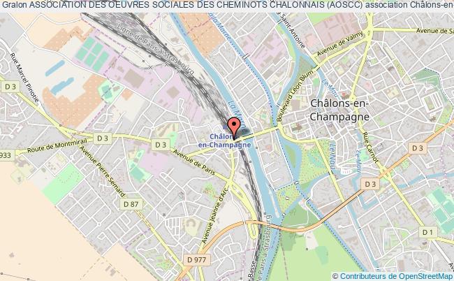 plan association Association Des Oeuvres Sociales Des Cheminots Chalonnais (aoscc)