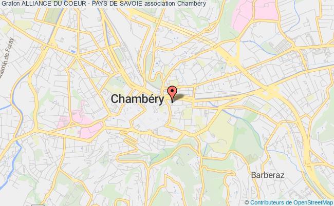 plan association Association Des Operes Du Coeur Et Malades Cardiaques De Savoie