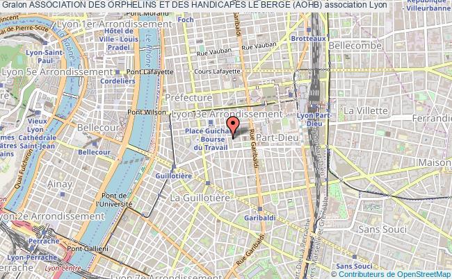 plan association Association Des Orphelins Et Des HandicapÉs Le Berge (aohb)