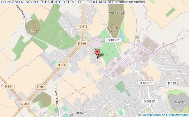 plan association Association Des Parents D'eleve De L'ecole Matisse