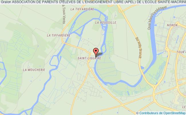 plan association Association Des Parents D'eleve De L'enseignement Libre (apel) De L'ecole Sainte-macrine