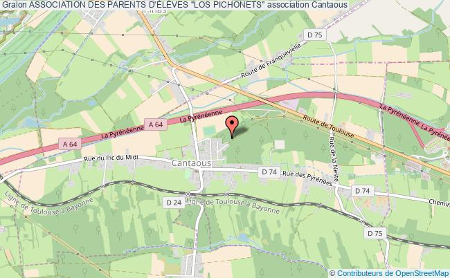 """plan association Association Des Parents D'ÉlÈves """"los Pichonets"""""""