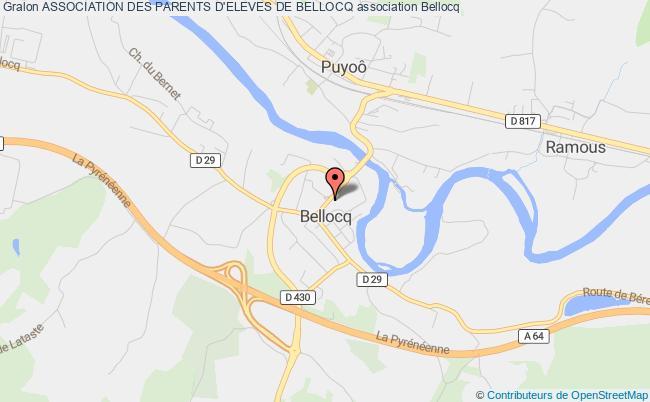 plan association Association Des Parents D'eleves De Bellocq
