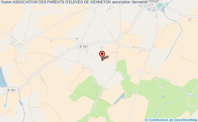plan association Association Des Parents D'eleves De Genneton