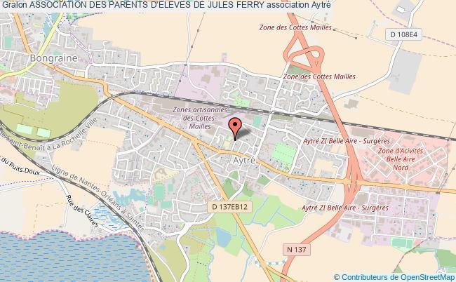 plan association Association Des Parents D'eleves De Jules Ferry Aytré