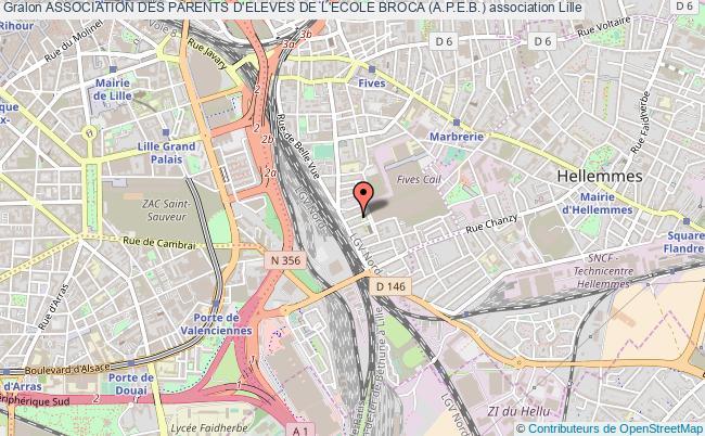 plan association Association Des Parents D'eleves De L'ecole Broca (a.p.e.b.)