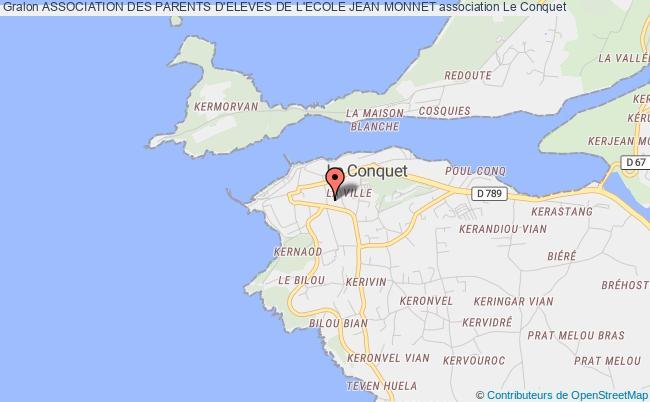 plan association Association Des Parents D'eleves De L'ecole Jean Monnet
