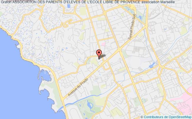 plan association Association Des Parents D'eleves De L'ecole Libre De Provence Marseille