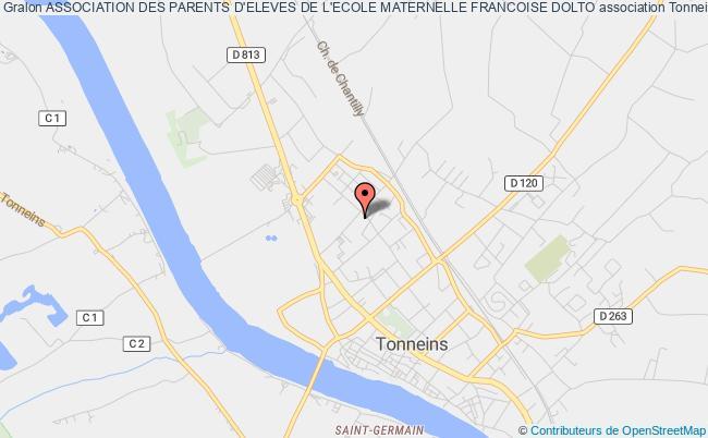 plan association Association Des Parents D'eleves De L'ecole Maternelle Francoise Dolto