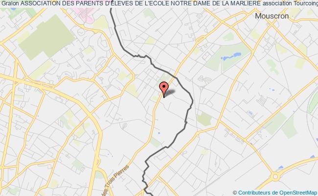 plan association Association Des Parents D'eleves De L'ecole Notre Dame De La Marliere