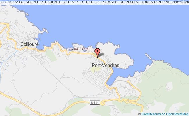 plan association Association Des Parents D'eleves De L'ecole Primaire De Port-vendres (apeppv)
