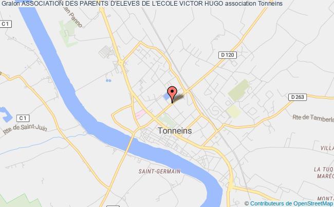 plan association Association Des Parents D'eleves De L'ecole Victor Hugo
