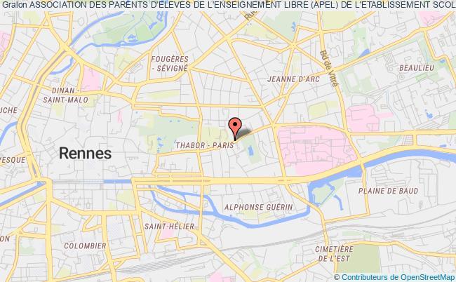 plan association Association Des Parents D'eleves De L'enseignement Libre (apel) De L'etablissement Scolaire Saint-vincent-providence
