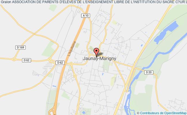 plan association Association Des Parents D'eleves De L'enseignement Libre De L'institution Du Sacre Coeur Ecole Et College