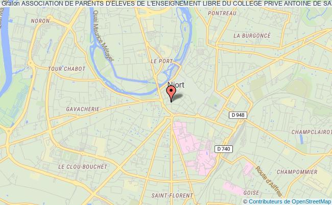 plan association Association Des Parents D'eleves De L'enseignement Libre Du College Antoine De Saint Exupery