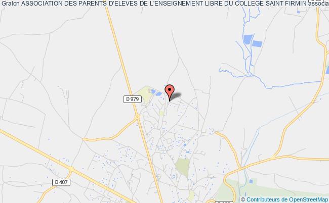 plan association Association Des Parents D'eleves De L'enseignement Libre Du College Saint Firmin Uzès