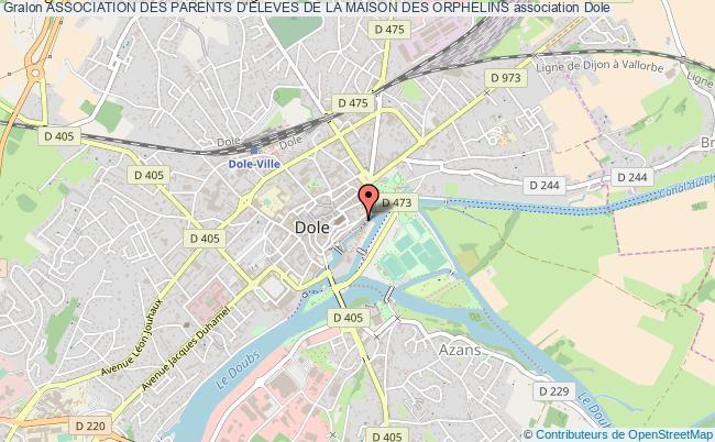 plan association Association Des Parents D'eleves De La Maison Des Orphelins Dole