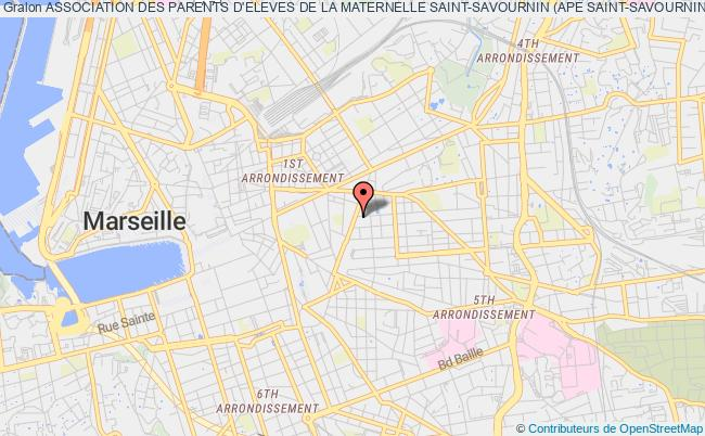 plan association Association Des Parents D'eleves De La Maternelle Saint-savournin (ape Saint-savournin)