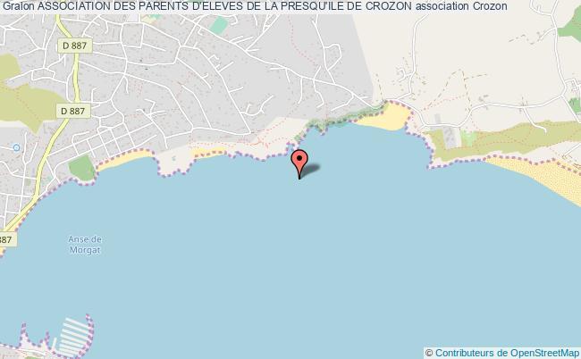 plan association Association Des Parents D'eleves De La Presqu'ile De Crozon