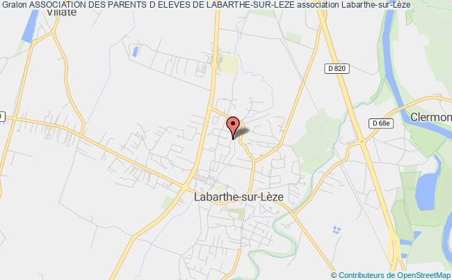 plan association Association Des Parents D Eleves De Labarthe-sur-leze