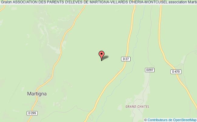 plan association Association Des Parents D'eleves De Martigna-villards D'heria-montcusel