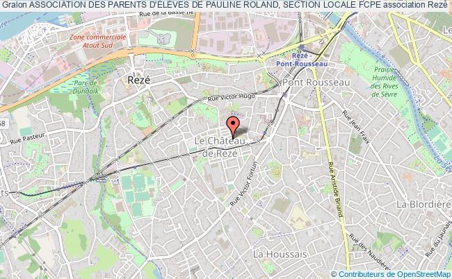plan association Association Des Parents D'ÉlÈves De Pauline Roland, Section Locale Fcpe