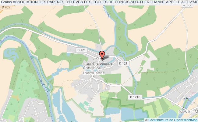 plan association Association Des Parents D'ÉlÈves Des Écoles De Congis-sur-thÉrouanne AppelÉ Activ'mÔmes Congis-sur-Thérouanne