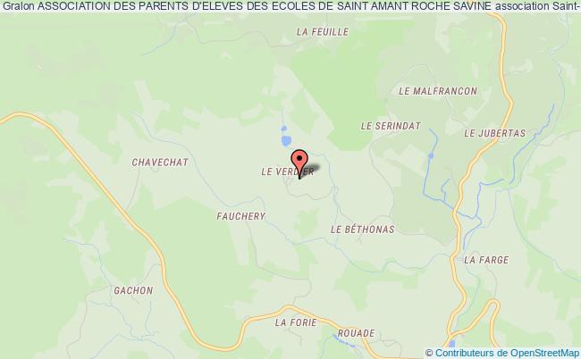 plan association Association Des Parents D'eleves Des Ecoles De Saint Amant Roche Savine SAINT-AMANT-ROCHE-SAVINE