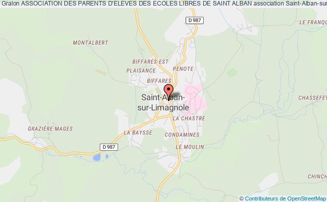 plan association Association Des Parents D'eleves Des Ecoles Libres De Saint Alban